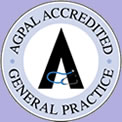 Our practice is AGPAL certified